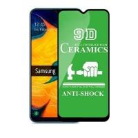 Защитное стекло Ceramic Samsung A01/M01 Black