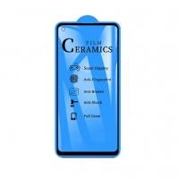 Защитное стекло Ceramic Samsung A21s Black