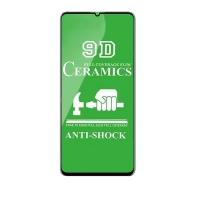 Защитное стекло Ceramic Samsung A41 Black