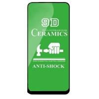 Защитное стекло Ceramic Samsung A60/M40 Black