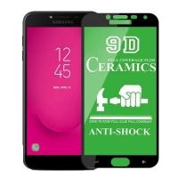 Защитное стекло Ceramic Samsung J4 2018 Black